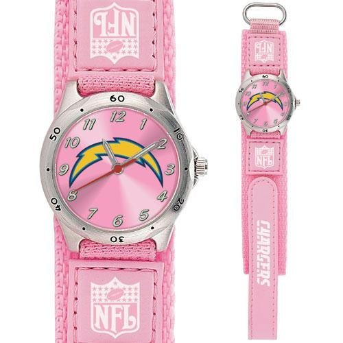 Game Time GTW-NFL-FSP-SD San Diego Chargers NFL Girls Future Star Series Watch Pink