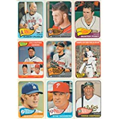 2014 Topps Heritage Baseball Complete Mint Basic 425 Card Hand Collated Set Based... by Baseball Card Set