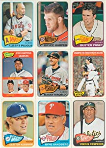 2014 Topps Heritage Baseball Complete Mint MASTER Series 554 Card Hand Collated Set... by Baseball Card Set