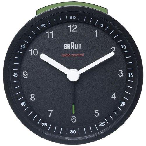 Braun BNC 007 Funkwecker in schwarz