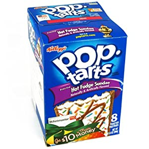 Kellogg's Hot Fudge Sundae Pop Tarts