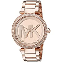 Michael Kors Parker Dial Rose Gold-tone Women's Watch
