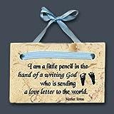 Baby Boy Plaque-Mother Teresa Quote