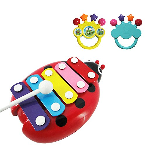 generic-baby-kind-5-note-xylophone-musikspielzeuge-weisheit-entwicklung-kafer-rot