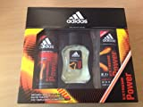 Extreme Power by Adidas Eau De Toilette 50ml, Body Spray 150ml and Shower Gel 250ml