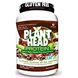 Genceutic Naturals Plant Head Protein Dietary Supplement, Chocolate, 1.8 Pounds