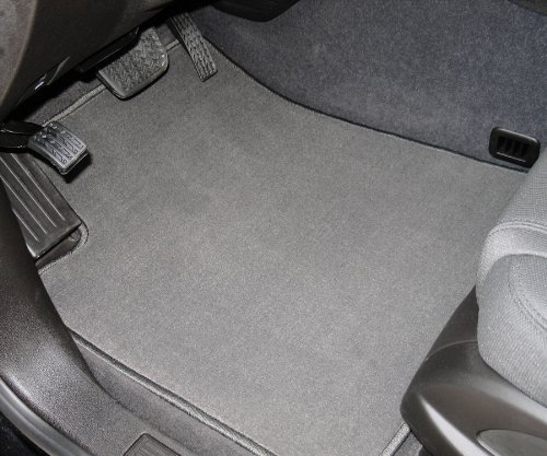 Saab 9000 Stain Resistant Carpeted Custom-Fit Floor Mats - No grommets 4 PC Set - Gray (1986 1987 1988 1989 1990 1991 1992 1993 1994 1995 1996 1997 1998 86 87 88 89 90 91 92 93 94 95 96 97 98)