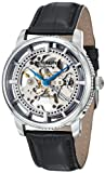Stuhrling Original Mens 393.33152Set Classic Winchester Skeleton Automatic Silver Tone Watch Set