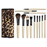 Docolor 12Pcs Makeup Brushes Set Foundation Contour Concealer Kits with Cases