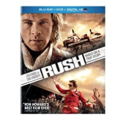 Rush (Blu-ray + DVD + Digital HD with UltraViolet)