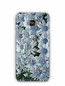 YuBingo Smile. You are Beautiful Designer Mobile Case Back Cover for Samsung Galaxy A3 2016