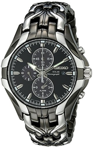 seiko-mens-ssc139-excelsior-gunmetal-and-silver-tone-stainless-steel-solar-watch