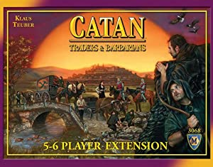 Settlers of Catan Traders and Barbarians Bundle