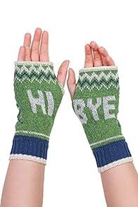 Green 3 Apparel Hi Bye Made in USA Hand warmers (Blue/Avocado)