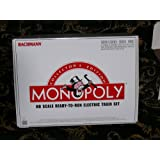 Bachmann Trains Monopoly Collector's Edition HO-Scale Ready-to-Run Electric Train Set by Bachmann