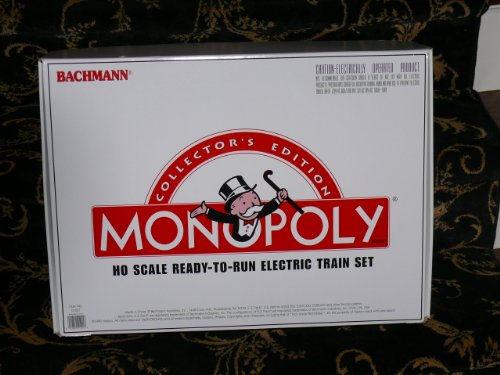 Monopoly Collector'S Edition Ho-Scale Ready-To-Run Electric Train Set By Bachmann front-532924