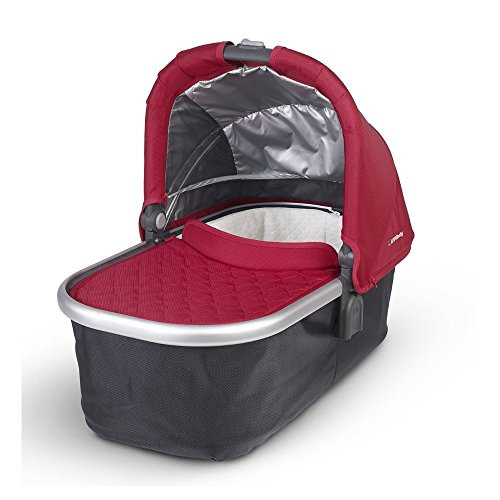 Uppababy Uppababy Bassinet, Denny (red/silver Frame), Denny