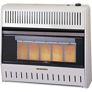 ProCom Radiant Vent-Free Natural Gas Heater - 30, 000 BTU, Model ...