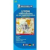 Lyon : Villeurbanne et son agglomeration - Plan et index