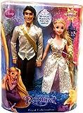 Disney Tangled Doll Figure 2Pack Set Royal Celebration Flynn Rider in White Shirt Rapunzel