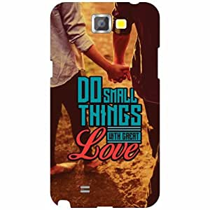 Samsung Galaxy Note 2 N7100 Back Cover