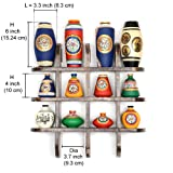 ExclusiveLane 12 Terracotta Warli Handpainted Vases With Antique Wooden Frame Wall Hanging
