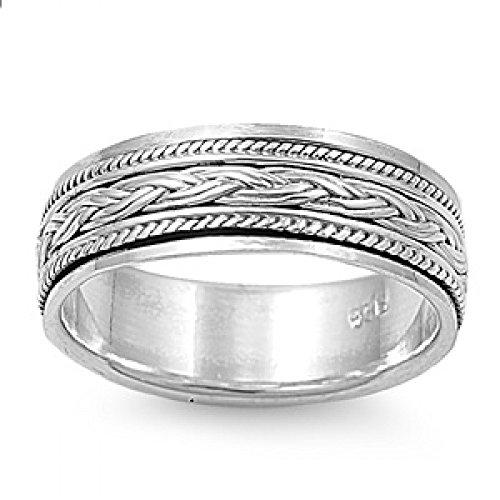 Sterling Silver Ring - Spinner