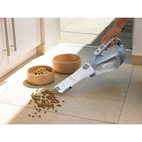 Black and Decker 16V Lithium Cordless Lightweight Cyclonic DustBuster Handheld Vacuum Cleaner (Shark Cordless Hand Vac Battery compare prices)