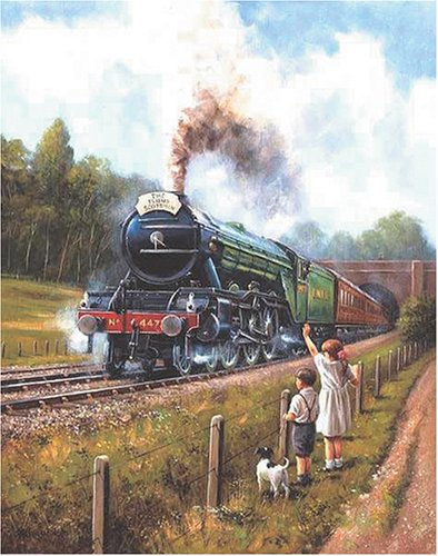 Watching the Trains Jigsaw Puzzle 500pc