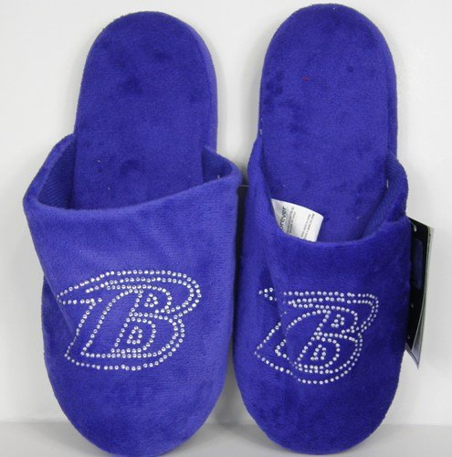 Cheap Baltimore Ravens Womens Jeweled Slippers (B006KYQHRU)