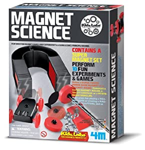 Great Gizmos Kidz Labs Magnet Science Set