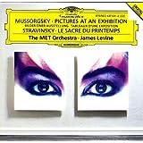 Moussorgsky-Tableaux/Exposition-Sacre/Printemps-Levine-Met O