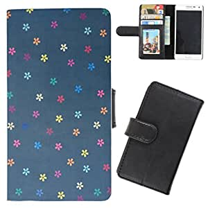 DooDa - For Blackberry Q5 PU Leather Designer Fashionable Fancy Flip Case Cover Pouch With Card, ID & Cash Slots And Smooth Inner Velvet With Strong Magnetic Lock