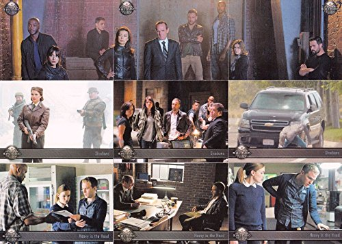 MARVEL AGENTS OF SHIELD SEASON 2 2015 RITTENHOUSE COMPLETE BASE CARD SET 72 (2015 Marvel Cards compare prices)