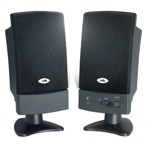 Cyber Acoustics CA2100 2.0 Speaker System 8W Black