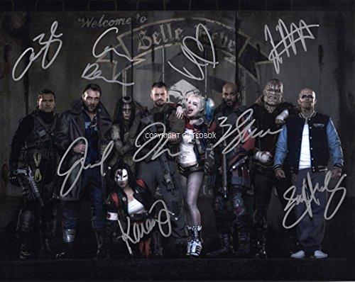 Suicide Squad, edizione limitata, foto con autografo stampato