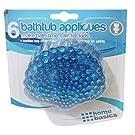 Antibacterial Bath Tub Non Slip Appliques Sea Shells Shell with Suction Cups (6pcs)