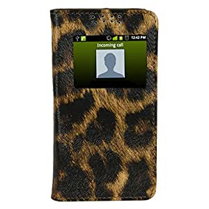 D.rD Flip Cover with screen Display Cut Outs designed for Sony Xperia Z Ultra