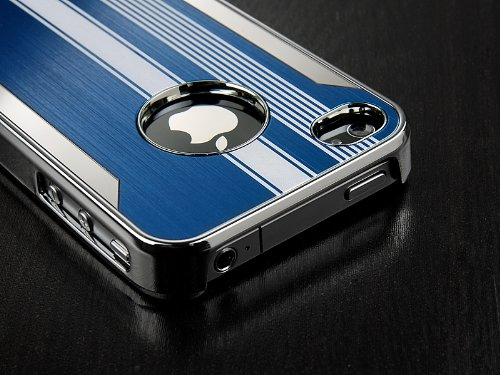 Pandamimi Blue Luxury Steel Aluminum Chrome Hard