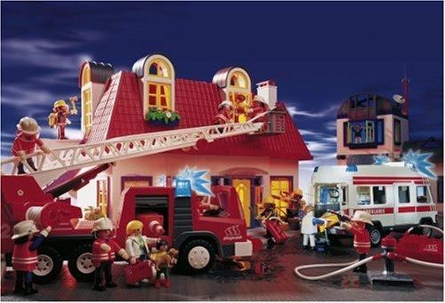 Schmidt – Playmobil, Feuerwehreinsatz, 60 Teile Puzzle günstig als Geschenk kaufen