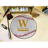 "Wofford Terriers NCAA ""Baseball"" Round Floor Mat (29"")"