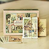 Alice Mini Post Card Set - Alice's Adventures in Wonderland (Stationery, Note Cards, Blank Note Card, Thank You Card, Notes, Memos, Greeting Cards)