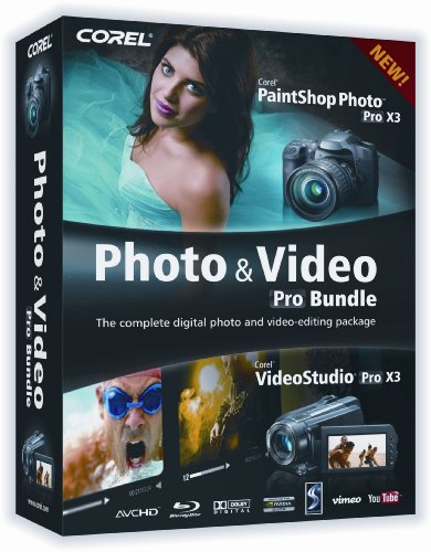 Corel Photo & Video Pro X3 Bundle [Old Version]