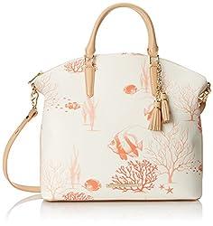 Brahmin Large Duxbury Satchel Top Handle Bag