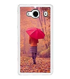 Nature Walk 2D Hard Polycarbonate Designer Back Case Cover for Xiaomi Redmi 2S :: Xiaomi Redmi 2 Prime :: Xiaomi Redmi 2