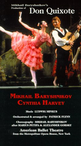 Don Quixote / Baryshnikov, Harvey, American Ballet Theatre [VHS]