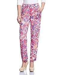 The Vanca Women's Slim Jeans (TRF350143-Fuchsia-M )