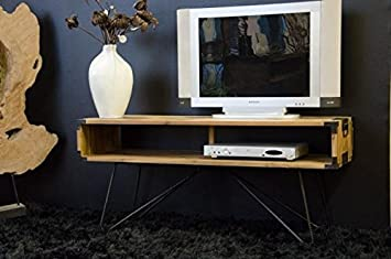 Walk - SI331102 - Meuble tv en teck - single - 125 cm