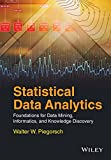img - for Statistical Data Analytics: Foundations for Data Mining, Informatics, and Knowledge Discovery book / textbook / text book