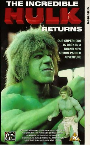 The Incredible Hulk Returns [VHS] [Import]